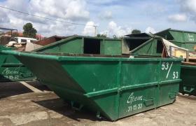 контейнер 8 м3, открытый, под строительный мусор