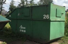 контейнер 8 м3, закрытый, под тбо