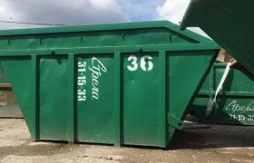 контейнер 7 м3, открытый, под строительные отходы, до 5 тонн