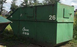 Мусорный контейнер 8 м.куб.