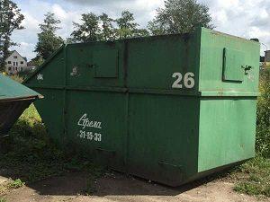 Мусорный контейнер 12 м.куб. в аренду закрытый
