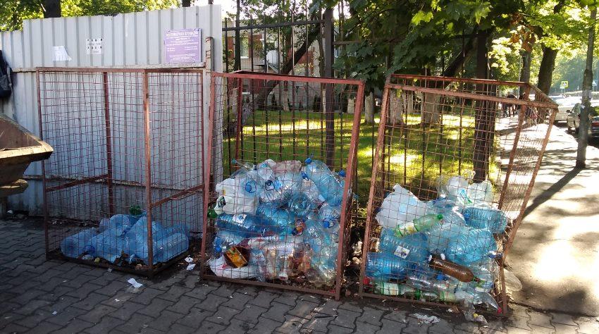 боксы для раздельного сбора мусора