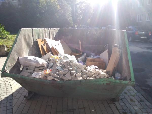 контейнер для мусора 8м.куб.