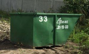 Открытый контейнер в аренду