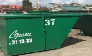 Контейнер для строительного мусора 4 м.куб. открытый