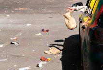 мусор на дорогах