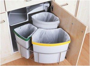 мусорка для раздельного сбора отходов