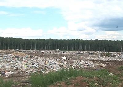 загрязненные мусором поля
