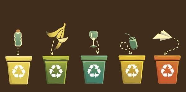 урны для разных отходов