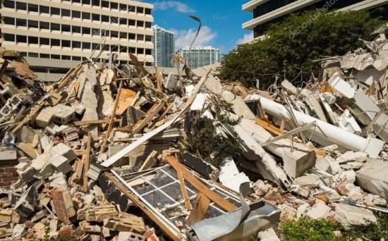 свалка строительных отходов