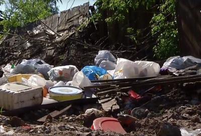фото несанкционированной свалки мусора